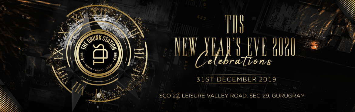 Book Online Tickets for New Years Eve at TDS-The Drunk Station, Gurugram. Ring in 2019 with style as you party the night away at TDS. The midnight open bar special is just the icing on an incredible decadent New Year's cake. Patrons can also enjoy a champagne toast at midnight, 2 surprise DJs and party favors. 2 floo