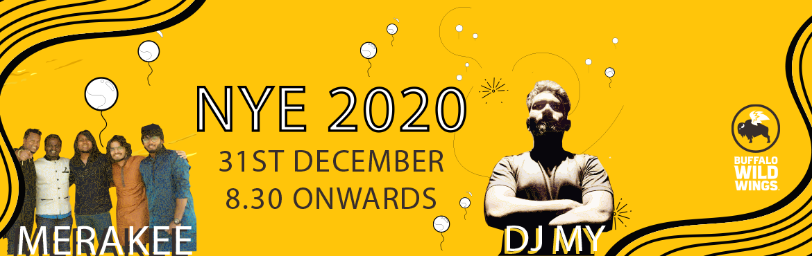 Book Online Tickets for NYE 2020 With Band Merakee and DJ MY at , Hyderabad. Bring in the New year with soulful music only at B-DUBS! Lose yourself with the feet tapping regional music by Band Merakee or dance to some amazing Bollywood and commercial music by DJ MY ! With unlimited alcohol and starters B-DUBS got you covered