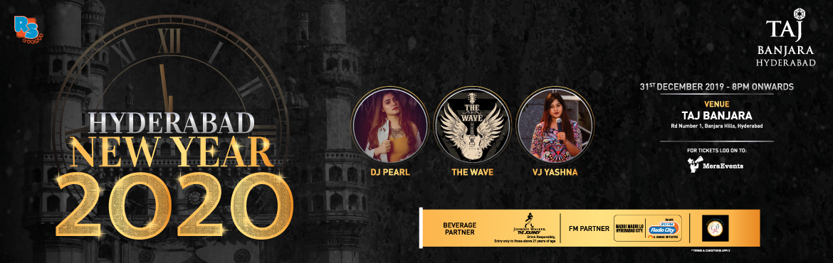 Book Online Tickets for Hyderabad New Year 2020 at Taj Banjara, Hyderabad. Coming to Hyderabad are the most talented artists DJ Pearl, The Wave and VJ Yashna to ensure your New Years Eve Celebrations start with a bang. Don't miss the best event of Hyderabad at Taj Banjara. Come Celebrate with us for one of the best la