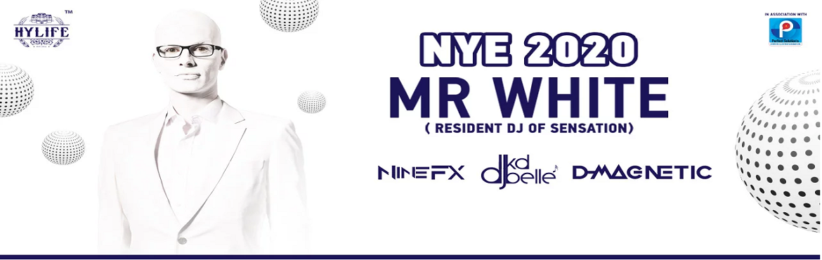 Book Online Tickets for NYE with MR.White (Sensation Resident DJ, Hyderabad. Mr.White, Coming from The world Class partying destination known as \