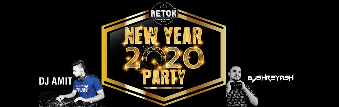 Book Online Tickets for New Year Eve Party 2020 At Retox, Pune.  No Control ... No Limits...Let\'s Live an Unforgettable 31st Dec 2019 and start most amazing New beginnings on 1st Jan 2020 Head over to Retox for your New Year Eve Party, Our doors open on Dec 31st 2019 8:30 pm...Come Have A Blast of Party Unl