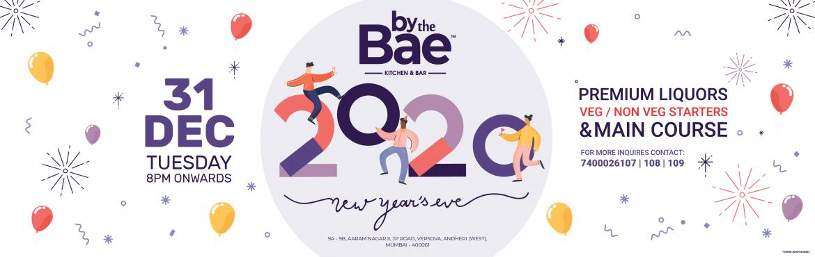 Book Online Tickets for By the Bae New Year Eve 2020, Mumbai. This NYE bring in 2020 with your BAE at By the Bae. The New Year deserves a super start at the super party sanctuary. Rights to admission Reserved | Drink Responsibly