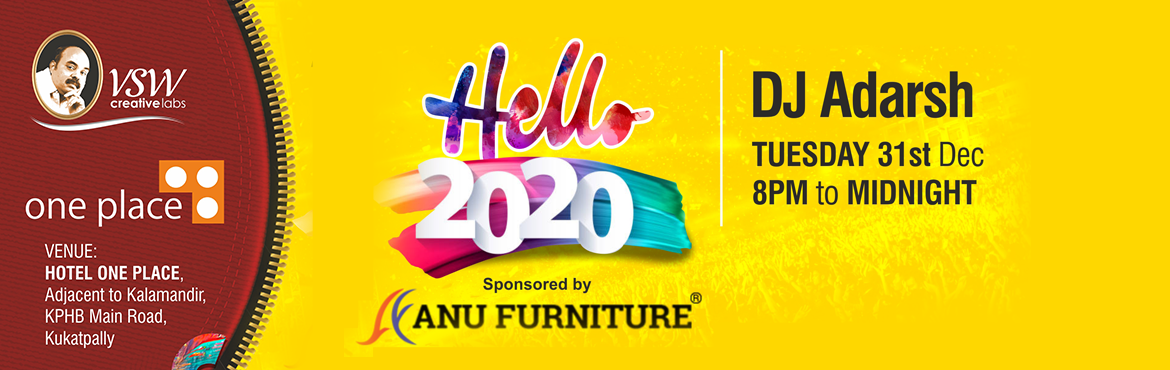 Book Online Tickets for Hello 2020 at Hotel One Place, Hyderabad. Say Hello to the new year 2020in style at the Hello 2020– NYE 16 at Hotel One Place which will be a party you will not want to miss. Open for stags, couples, and kids, this is the party to head to and bring in all your friends from various walk