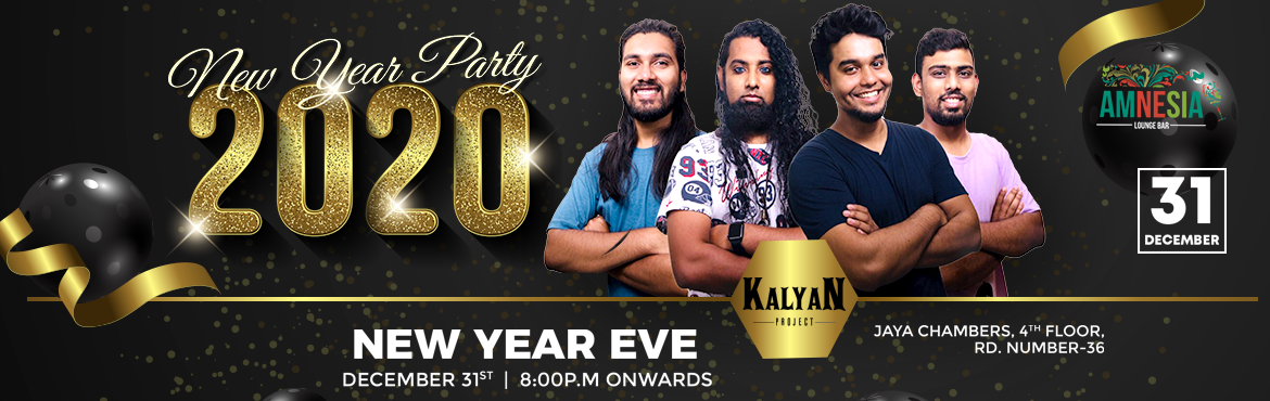 Book Online Tickets for NYE 2020 at Amnesia Lounge Bar, Hyderabad. Live Band Performance Kalyan Project They are very popular band in Hyderabad which they play Bollywood and regional songs and also will be having the DJ Mike will make on the floor to dance