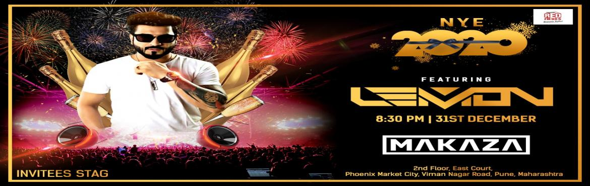 Book Online Tickets for New Year Party, Pune. Get ready for the Incredible New Year party with a bang of music by DJ Lemon. Let\'s make this Party joyous and bright, Cheer up and enjoy the big celebration with your loved ones. Make a plan today and enjoy a night filled with madness and spark. Se