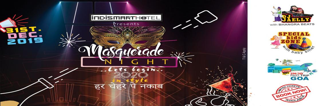 Book Online Tickets for Masquerade Nite, Kolkata. Venue:-Marble Room and Smart Cafe for DJ,Snacks and Drinks  X-Spicy Restaurant for Gala Buffet Dinner &nbs