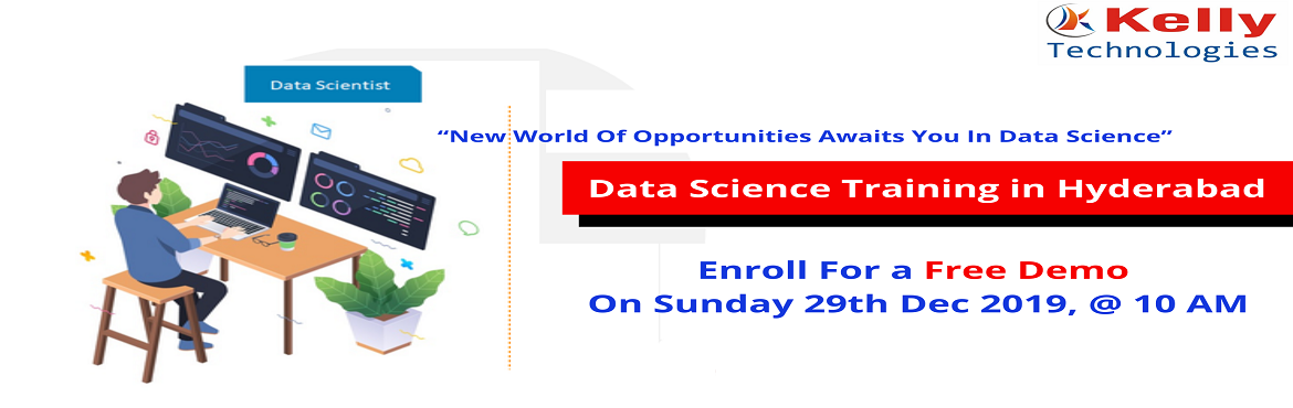 Book Online Tickets for Register For Data Science Free Interacti, Hyderabad. About The Demo: Data Science is everywhere. Analyzing & extracting the insights from this data can present businesses with the opportunity to explore newer sources for revenues & helps in the process of decision making. This has led to the ri