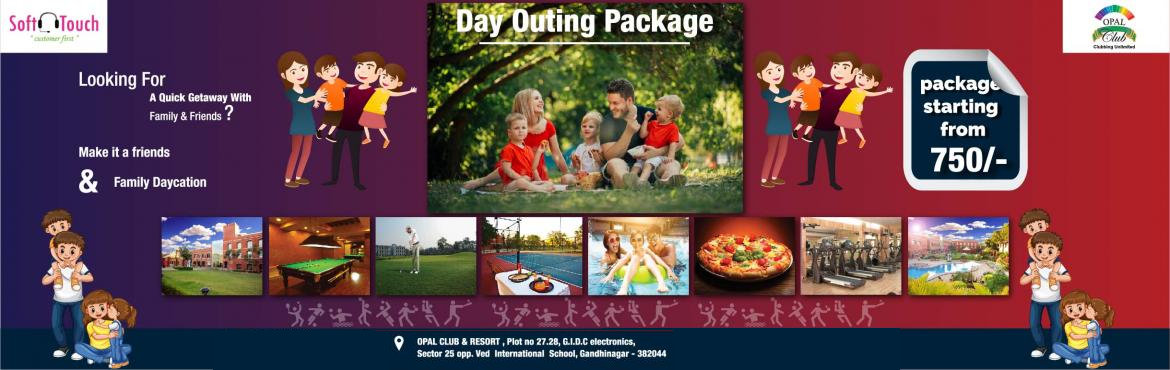 Book Online Tickets for Opal Club - Day Outing - Gandhinagar, Gandhinaga. OPAL Club & Resort  Take a break from all your busy schedules, stress, deadlines and the other monsters you deal with everyday and make a day of it by heading to OPAL Club. With the aim to offer the brilliant combination of style, relaxatio