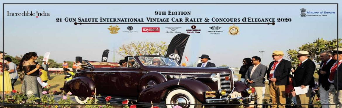 Book Online Tickets for 21 Gun Salute International Vintage Car , Gurugram. History, Heritage, and Horsepower! So far, 21 Gun Salute Heritage & Cultural Trust has organized eight vintage Concours shows annually in a row, till 2018. You can visit our photo gallery to get a flavor of the previous years' events. The r