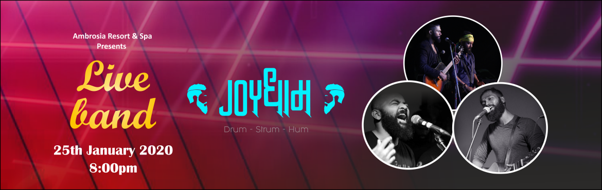 Book Online Tickets for  Joydham Live Band at Ambrosia Resort, Pune. Alternative rock,progressive rock,bollywood mix & all other genres.