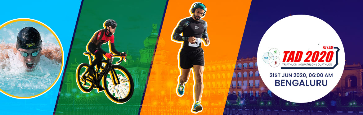 Book Online Tickets for TAD BENGALURU 2020, Bengaluru.  TAD Bengaluru 2020 will comprise of the following Open categories for Men and Women: > Triathlon Elite: Swim 300Mts – Cycle 20K – Run 5K> Triathlon Amateur: Swim 200Mts – Cycle 10K – Run 5K> Aquathlon Elite: Swi