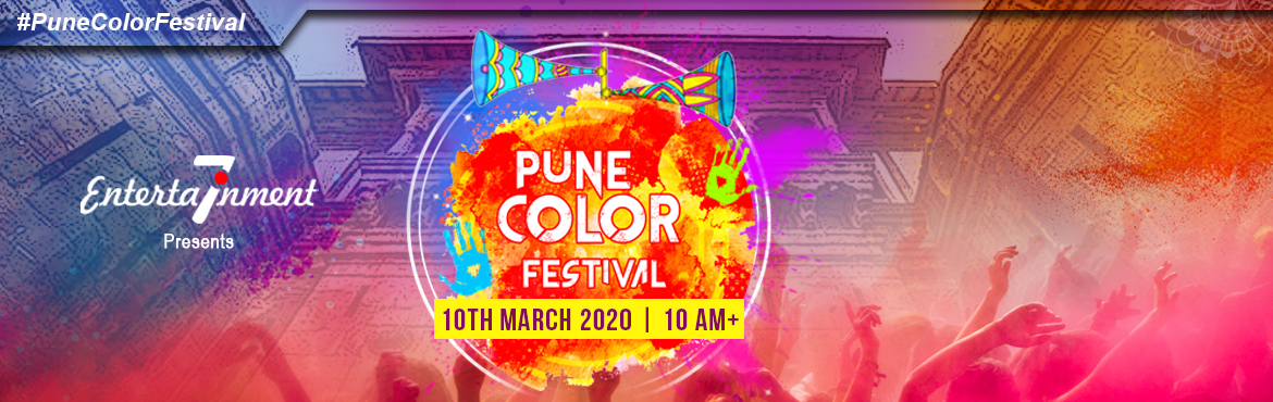 Book Online Tickets for Pune Color Festival - Season 3, Pune.     After successful of last two Pune Color Festival Editions we are back with lots of memories, with Season III Pune Color Festival 3.0 we are back.  Pune\'s Biggest Holi Festival at lawn Meadows, The Orchid Hotel, Balewadi, Pune.  It&rs