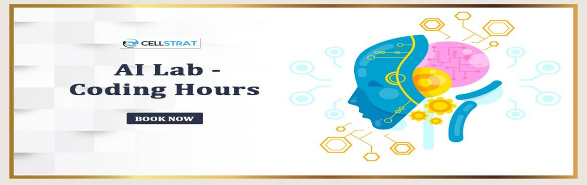 Book Online Tickets for CellStrat AI Lab - Global Membership (Vi, Bengaluru. About The Event  Welcome to theCellStrat AI Lab! It is the place where breakthrough innovation happens. It is one of a kind.  Have expertise in Machine Learning and Deep Learning? Itching to develop disruptive AI applications for the world stag