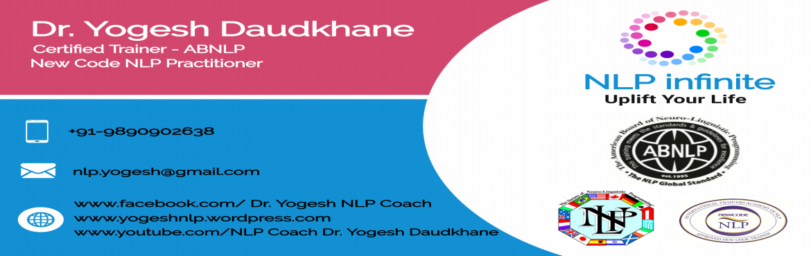 Certified NLP Practitioner by ABNLP - Pune | MeraEvents.com