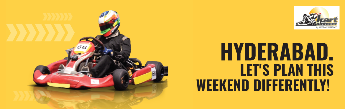 Book Online Tickets for Outdoor and Recreational Activity, Hyderabad. Kartainment is made up of 900 meter professional track and 600 meter recreational Go-Karting track.The quality of the track and its maintenance is of extremely high standards and that is the reason why Kartaiment is the preferred choice to host many
