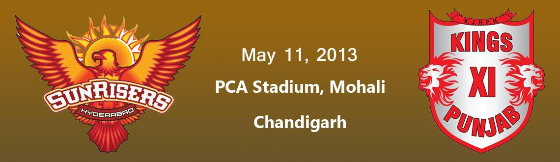 Kings XI Punjab vs. Sunrisers Hyderabad @ PCA Stadium, Mohali