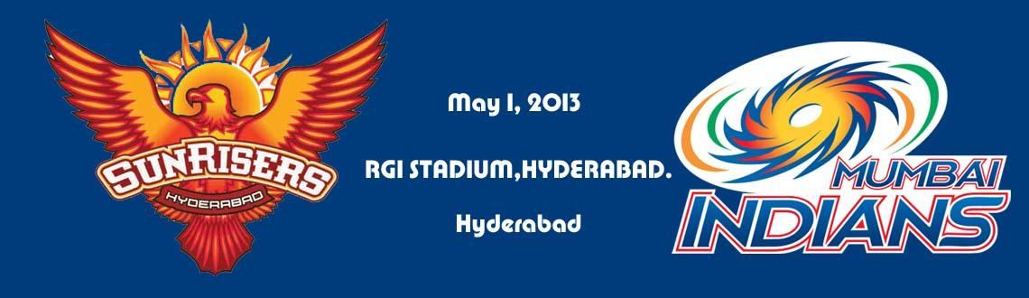 Sunrisers Hyderabad vs Mumbai Indians@RGI Stadium, Hyderabad