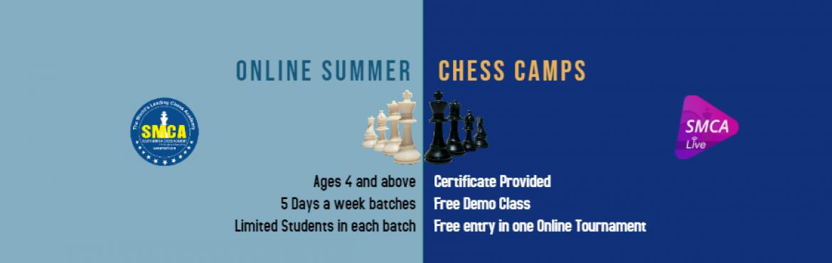 Book Online Tickets for Online Chess Summer Camps by SMCA  - Lif, Mumbai. Online Chess Summer Camps by SMCA to boost your child\'s confidence and make them a pro chess player while still being in the comfort and safety of your own home.