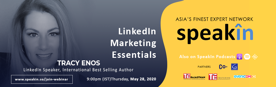 Book Online Tickets for LinkedIn Marketing Essentials, . LinkedIn isn\'t just for professionals and job seekers. ... From making connections to generating leads, establishing partnerships and creating better brand awareness, LinkedIn makes an invaluable addition to your digital marketing strategy. At its c