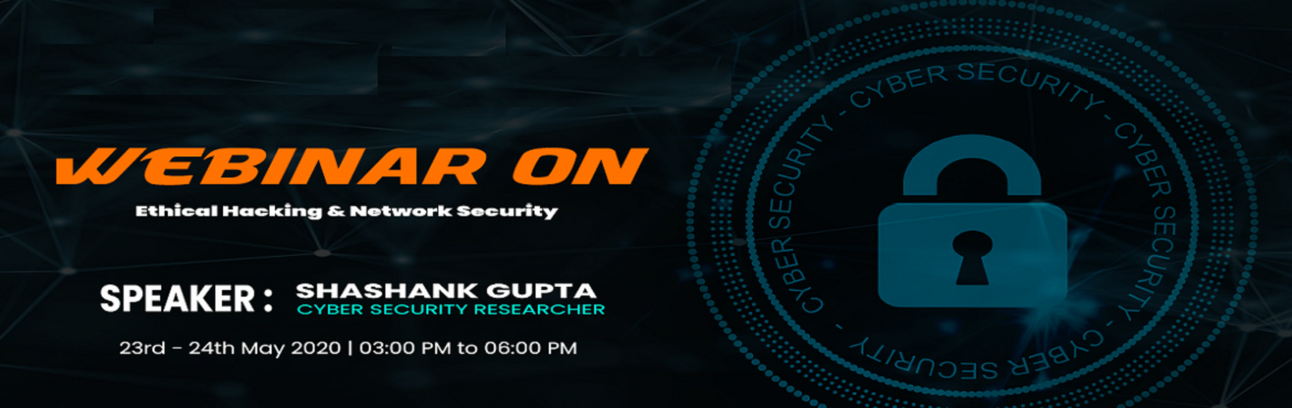 Book Online Tickets for Experts Webinar On Ethical Hacking by Sh, . Organizations across the globe are going through a never experienced transformation, which is drastically changing the polarity of skills and hence, the learning requirement. Academic institutions in India are currently under locked down phase and th