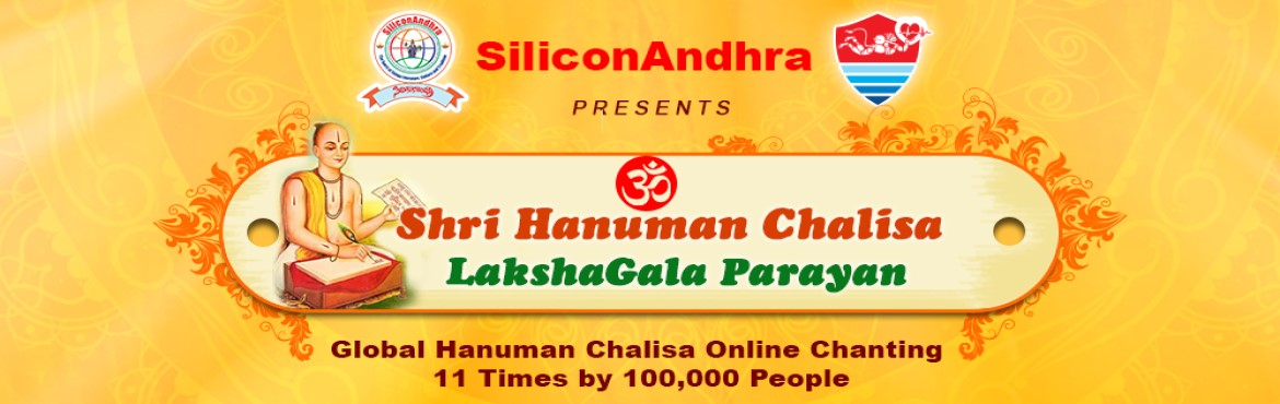 Book Online Tickets for Shri Hanuman Chalisa Lakshagala Parayan, Kuchipudi. Namaste!                Ramayan says Lord Hanuman brought Sanjivani, the miracle herb, to save the life of Lakshman. In these global pandemic times, we are in a desperate need  for the discovery of a vacci