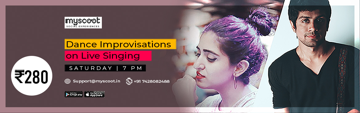 Book Online Tickets for Dance Improvisations on Live Singing, . Dance is my Cardio! What is yours? Hi there, I am Sandeep, an actor, dancer and choreographer. I have acted in Bollywood films and have performed in over 1300 stage shows. I am hosting a virtual dance session where you can learn how to move you