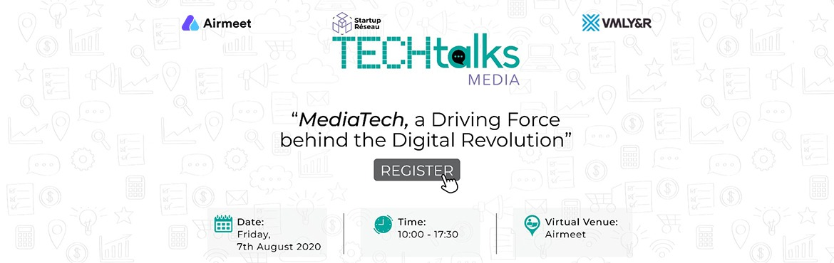 Book Online Tickets for Startup Reseau | TechTalks - Media Tech, . Startup Réseau| TechTalksare a series of bi-monthly thematic tech events, with an objective of bringing together stakeholders of the industry - corporations, startups, investors, tech giants etc to discuss the impact of technology