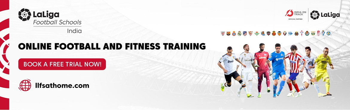Book Online Tickets for Laliga Football School at home - Online , . Just because you\'re stuck at home, doesn\'t mean you can\'t play! We\'re bringing football training right to your homes with online football training sessions brought to you by Laliga Football Schools India. Build a healthy daily routine with our fu
