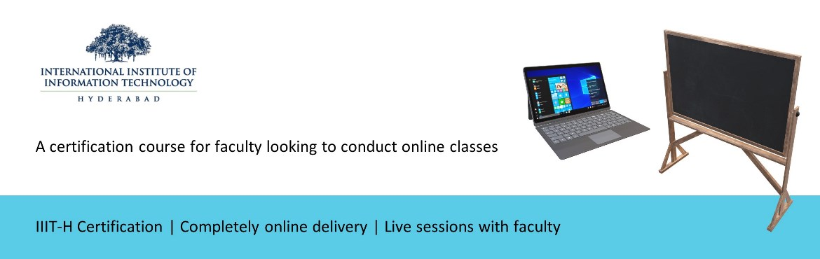 Book Online Tickets for Introduction to Online Pedagogy course b, . This short course will cover basic models for online pedagogy. We will go through approaches for preparing and delivering engaging online lectures. Tools and skills required for recording lecture videos and creating interactive content on popula
