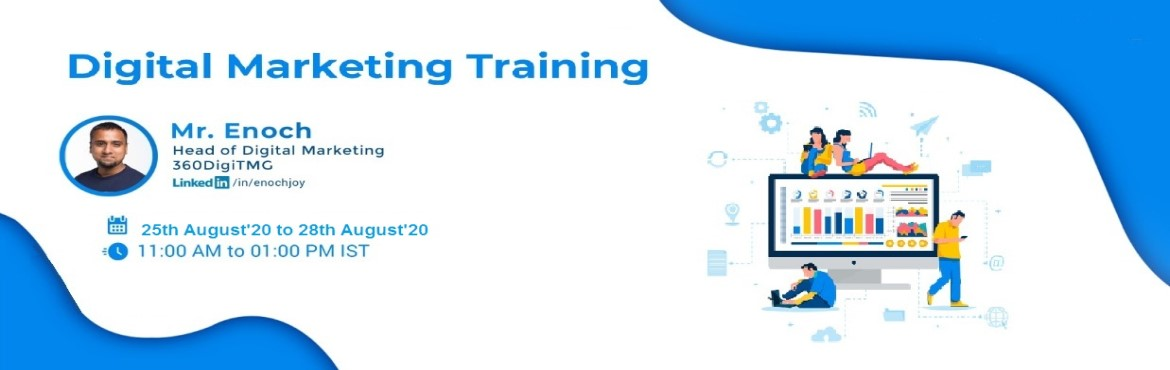 Book Online Tickets for DIGITAL MARKETING TRAINING, . Design winning marketing campaigns in the digital realm with our Certification Programme in Digital Marketing.  Learning Objectives.  Study user behaviour on the internet and prepare user segmentation schema. Develop segmentation driven campaig