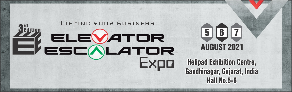 Book Online Tickets for Elevator Escalator Expo 2021, Gandhinaga. Elevator Escalator Expo is an upcoming business show in India which gives an excellent platform for the vertical transportation industry to meet and interact with relevant leaders, decision makers and managers under one roof. The 2019 edition was hel