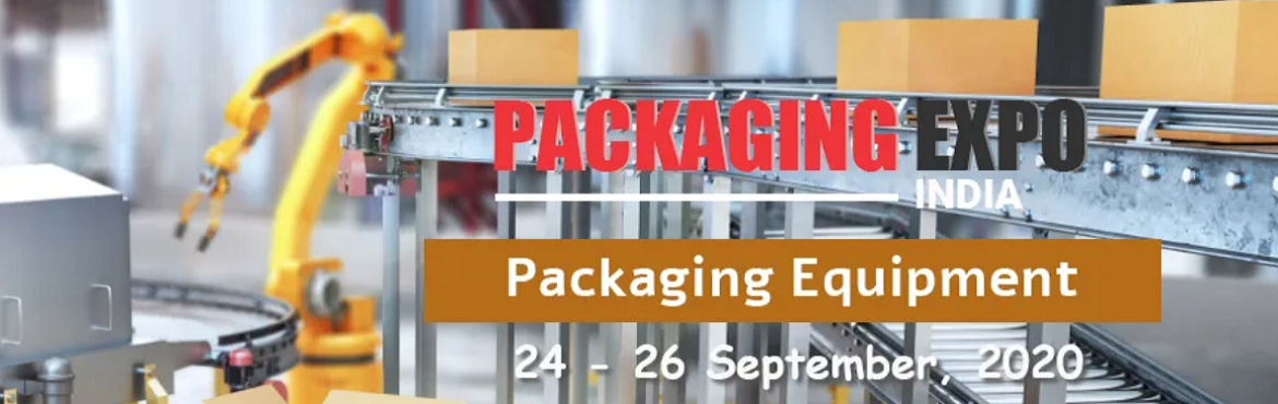 Book Online Tickets for Packaging Expo India 2020, . Packaging Expo India 2020 - Organised by TradeIndia is a Virtual Trade Fair, combined with virtual exhibitions, webinars and industry conferences. The three-day event will be live during 24th - 26th September, 2020 between 11AM to 7PM. The even
