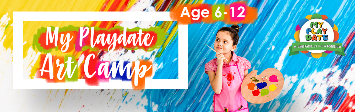 Book Online Tickets for My Playdate: Art and Craft Camp, . Time of Class: (Tuesday & Thursday) 5 - 5:45 PM Weekly 2 classes Age Group: 6 - 12 Total Classes: 8 Enrollment: You can enroll any day and start with the daily classes Engage your kids in Art Camp to get their creative juices flowing and improve