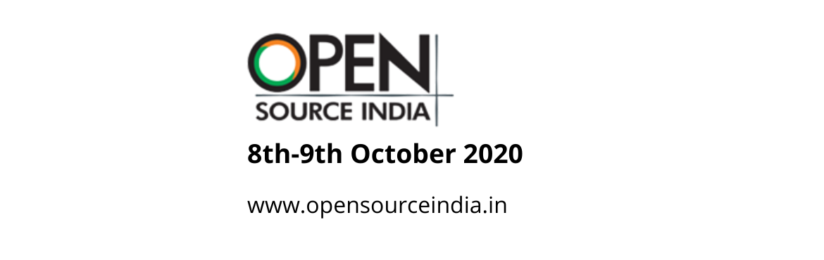 Book Online Tickets for Open Source India , . Open Source India (OSI) is an attempt by the team at Open Source For You magazine in partnership with India's Open Source community and industry—to bring various stake-holders under one roof. The mission ofOSIis simple—t