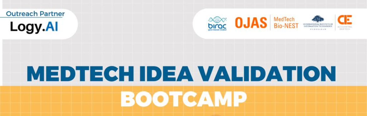 Book Online Tickets for Medtech Idea validation Bootcamp | OJAS , .  Join two days of rigorous idea validation bootcamp led by domain experts and medtech startup founders. Get your business ready!