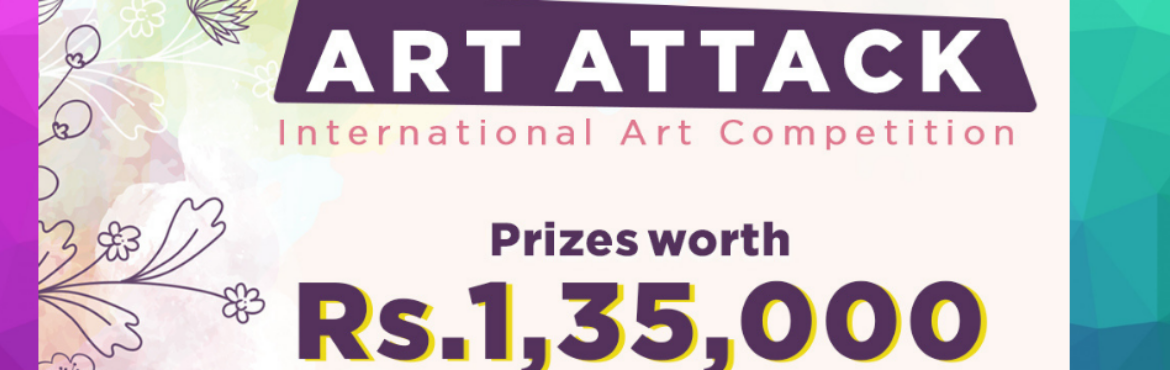 Book Online Tickets for Art Attack  India s Largest Art Competit, . Hello Creative Soul, We are searching for an amazing artist like you to part of this competition and you will be glad to know that Artshala present \