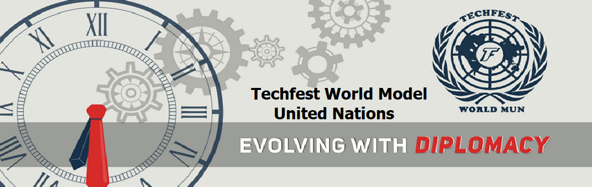 Book Online Tickets for Techfest World Model United Nations, . Techfest World MUN is back and this time, attend it in the comforts of your home! Debate, discuss, lobby and socialize with 300 other delegates at one of Mumbai\'s largest MUN conferences, held completely online on 7th and 8th November, 2020.  With 8