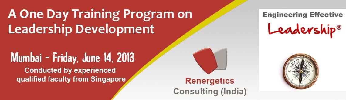 Engineering Effective Leadership for Personal Success - A One day Leadership Development Program in Mumbai