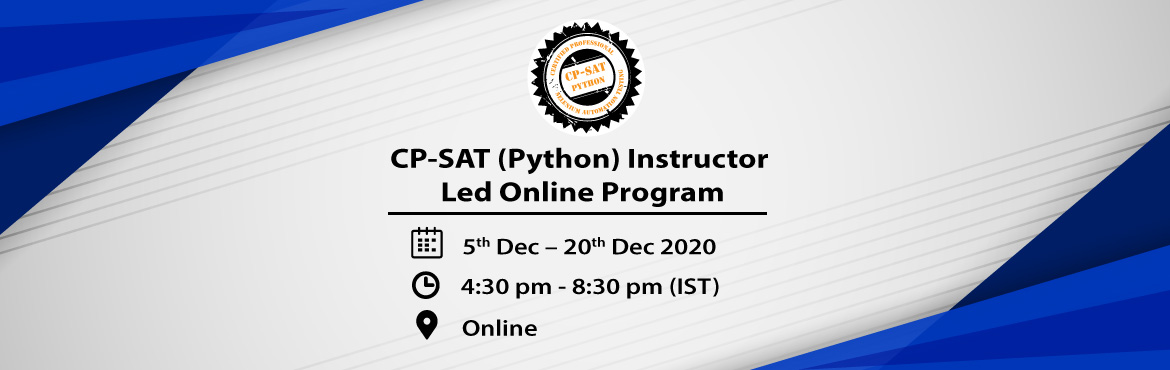 """Book Online Tickets for Instructor led online Selenium 3.0 progr, . CP-SAT Python: Learn Selenium with Python: (Instructor LED ONLINE Program) CP-SAT Python stands for """"Certified Professional – Selenium Automation Testing in Python"""" certification prepared and honored by """"Agile Testing Alliance"""