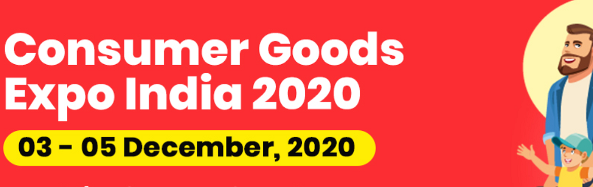 Book Online Tickets for Consumer Goods Expo India 2020, . The demand for consumer goods is regaining to near pre-Covid levels as the sales pock-up post the ease of isolation restrain by the Government of India. Large manufacturers and retailers of consumer goods seeking a business platform to battle the wor
