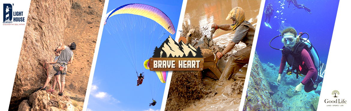 Book Online Tickets for Brave Heart, Hyderabad.  Brave Heart is an International Adventure Fly Fest held from 8th January 2021 to 28th January 2021. Indulge in the experience of a lifetime just 2 kilometres away from Krishna River, in the Nallamala Forest CLASSIC EVENTS: Cycle Race | Horse Ra
