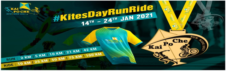 Book Online Tickets for Kites Run-Ride-Walk 2021, . Kites Run-Ride-Walk 2021 Run, ride, walk to celebrate this #MakarSankranti with AKA #KaiPoCheRunRide. #KitesDayRunRideDate: 14 - 24 Jan 2021  Register Now! Run Categories: 2 KM | 5 KM | 10 KM | 21 KM | 42 KM Cycling Categories: 10 K