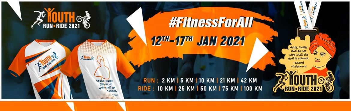 Book Online Tickets for Youth Day Run-Ride 2021, . Youth Day Run-Ride-Walk 2020 CelebrateNational Youth Daywith a virtual run because a runner/rider has no age.  Register Now!  Run Categories:  2 KM | 5 KM | 10 KM | 21 KM | 42 KM  Cycling Categories:  1