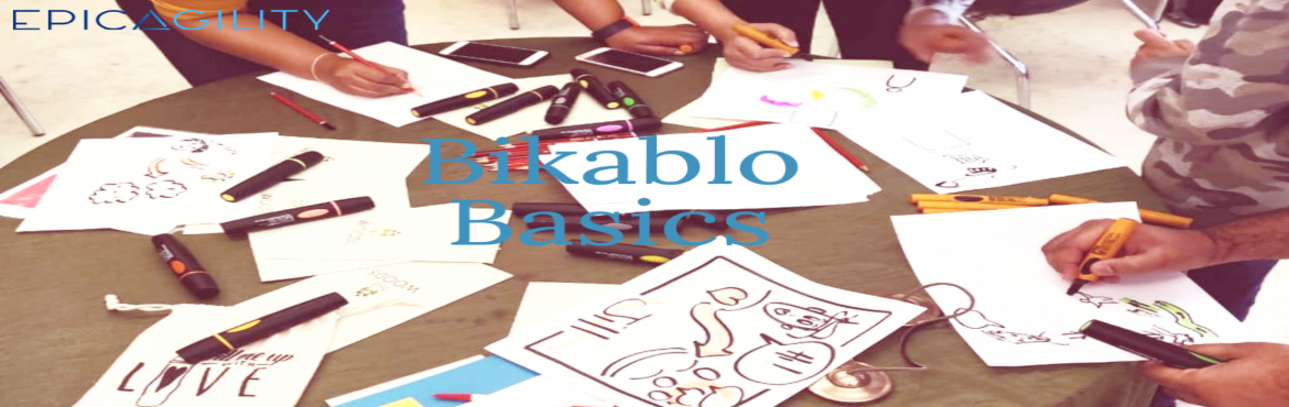 "Book Online Tickets for Bikablo basics workshop 13 March 2021 by, . Trainer - Jill Greenbaum Overview:   ""Thinking with your pen"" in a complex world         The age of knowledge is making way for the age of images. With pen in hand, an ever-growing number of people are using visualization to sec"