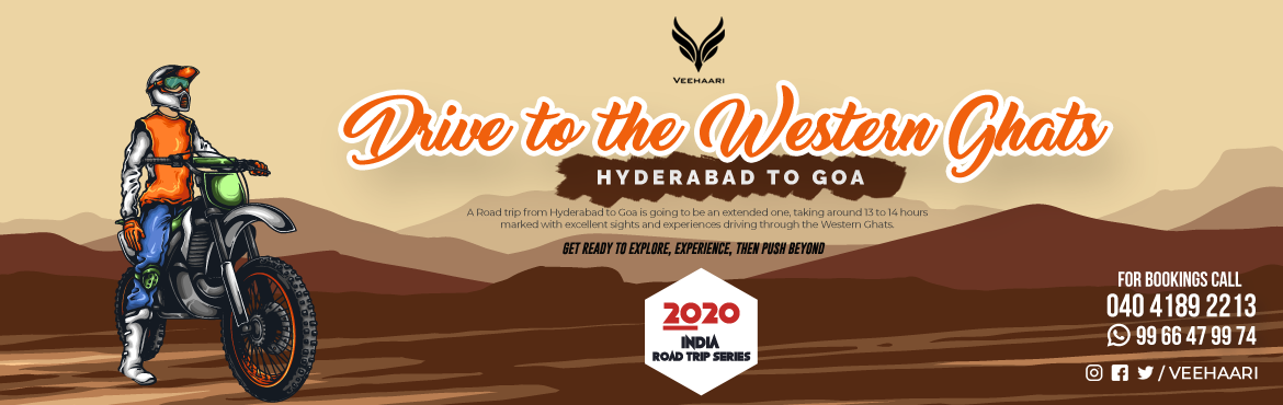 Book Online Tickets for Drive to the Western Ghats Hyd-Goa , Panaji. Goa, a hot spot all year round for tourists, is India's party hub. Visited by domestic and international tourists equally, it is known for its golden beaches, shacks, affordable alcohol, and vibrant festivals. Not just parties, Goa is understoo