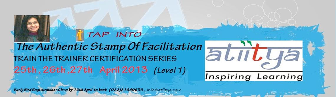 Book Online Tickets for TRAIN THE TRAINER - LEVEL 1, Mumbai. Tapping Into