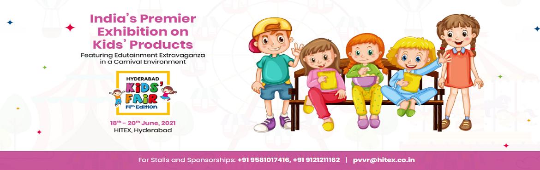 Book Online Tickets for Hyderabad Kids Fair 2021, Hyderabad.  Reg Stalls / Exhibitors : Contact 9121211162                            &nb