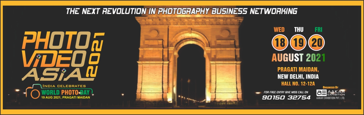 Book Online Tickets for Photo Video Asia, New Delhi. Photo Video Asia a dedicated high focus platform that provides the latest inproducts and technology for high value is niche products & services within India\'s Photo Market place. The exhibition\'s special hall mark is its broad program tha