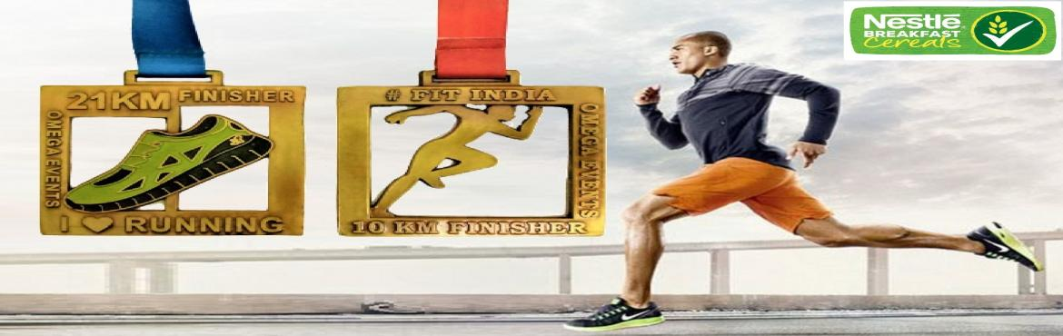 Book Online Tickets for India Virtual Marathon, . India Virtual Marathon - Get Beautiful Medal by Courier Run / Walk / Jog / Cycle at your own Place, Gym or Treadmill. We have 2 Challenges. 10KM and 21KM Challenge Medals. You can do 10 KM / 21 KṀ in one go or 1 km for 10 days or 2 km for 5 d