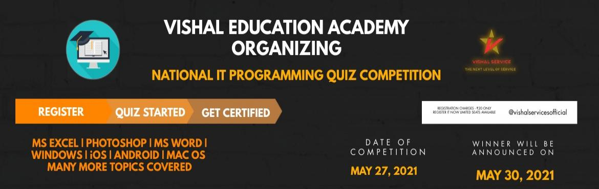 National Level IT Quiz Competition 2021
